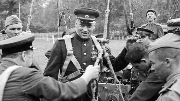 Marszałek Związku Radzieckiego Konstanty Rokossowski - Sputnik Polska