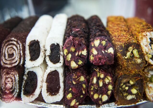 Wystawa produktów spożywczych w Moskwie