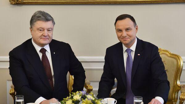 Wizyta prezydenta Ukrainy Petro Poroszenko w Polsce - Sputnik Polska