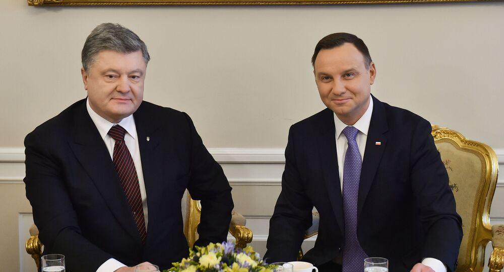 Wizyta prezydenta Ukrainy Petro Poroszenko w Polsce