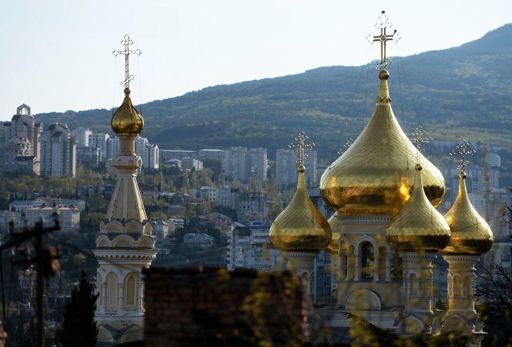 Cerkiew prawosławna na Krymie