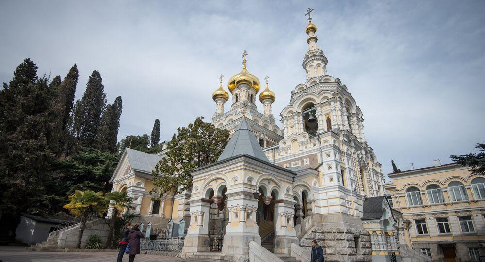 Sobór św. Aleksandra Newskiego w Jałcie