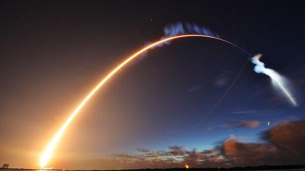 Wystrzelenie rakiety Atlas V z satelitą amerykańskich sił zbrojnych z przylądka Canaveral na Florydzie - Sputnik Polska