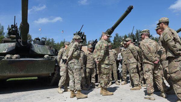 Amerykańscy żołnierze podczas szkoleń w Niemczech - Sputnik Polska