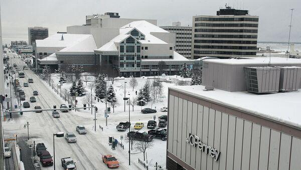 Miasto Anchorage w stanie Alaska, USA - Sputnik Polska