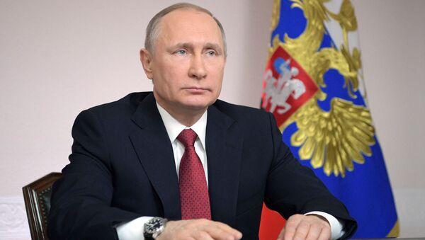 Władimir Putin w Archangielsku - Sputnik Polska