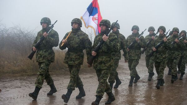 Wspólne ćwiczenia wojskowe Rosji, Serbii i Białorusi - Sputnik Polska