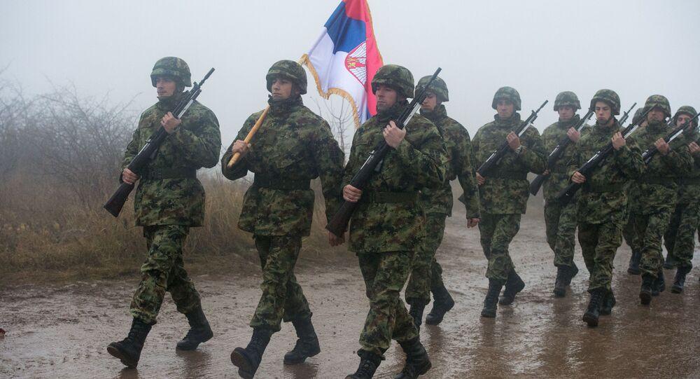 Wspólne ćwiczenia wojskowe Rosji, Serbii i Białorusi