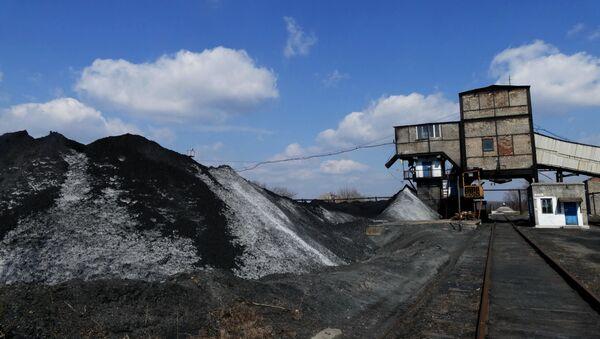 Kopalnia węgla Kalinowskaja-Wostocznaja w DRL - Sputnik Polska