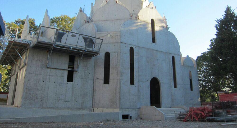 Budowa cerkwi prawosławnej w Strasburgu
