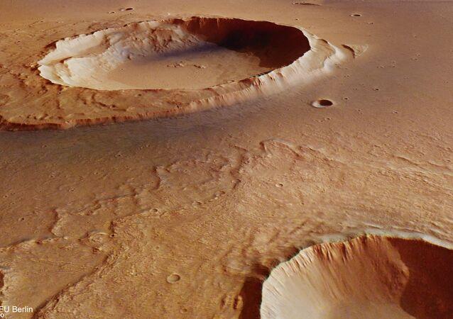 Kratery na Marsie