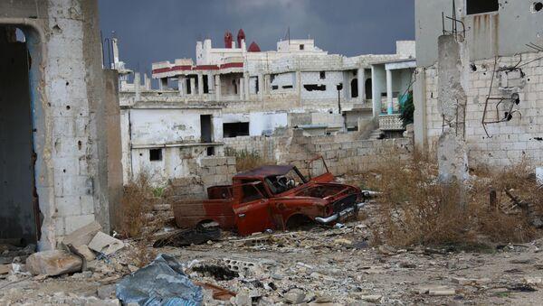Miasto Murek w syryjskiej prowincji Hama - Sputnik Polska