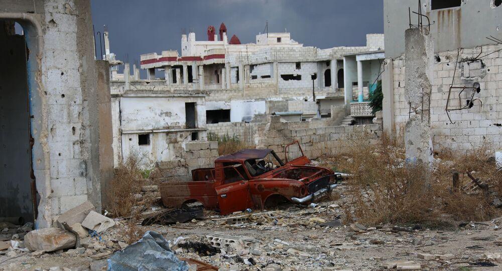 Miasto Murek w syryjskiej prowincji Hama