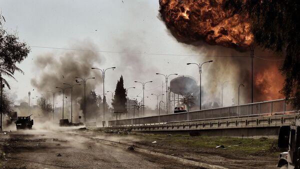 Eksplozja samochodu w Mosulu - Sputnik Polska