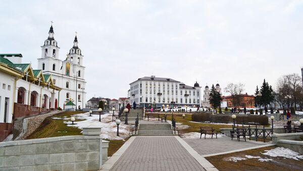 Centrum Mińska, Białoruś - Sputnik Polska