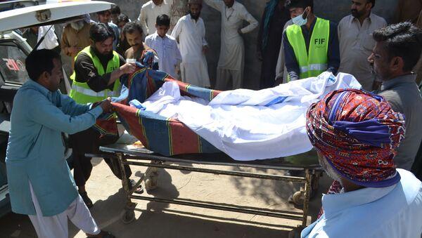 Ofiara morderstwa w Sargodha, Pakistan - Sputnik Polska