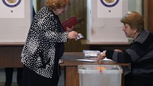 Wybory parlamentarne w Armenii - Sputnik Polska
