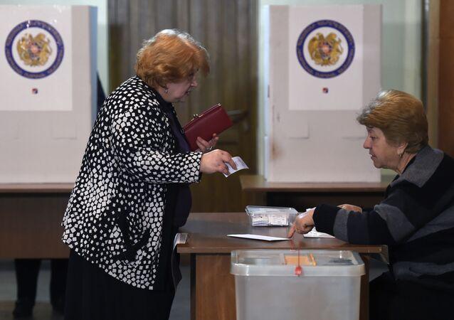 Wybory parlamentarne w Armenii.