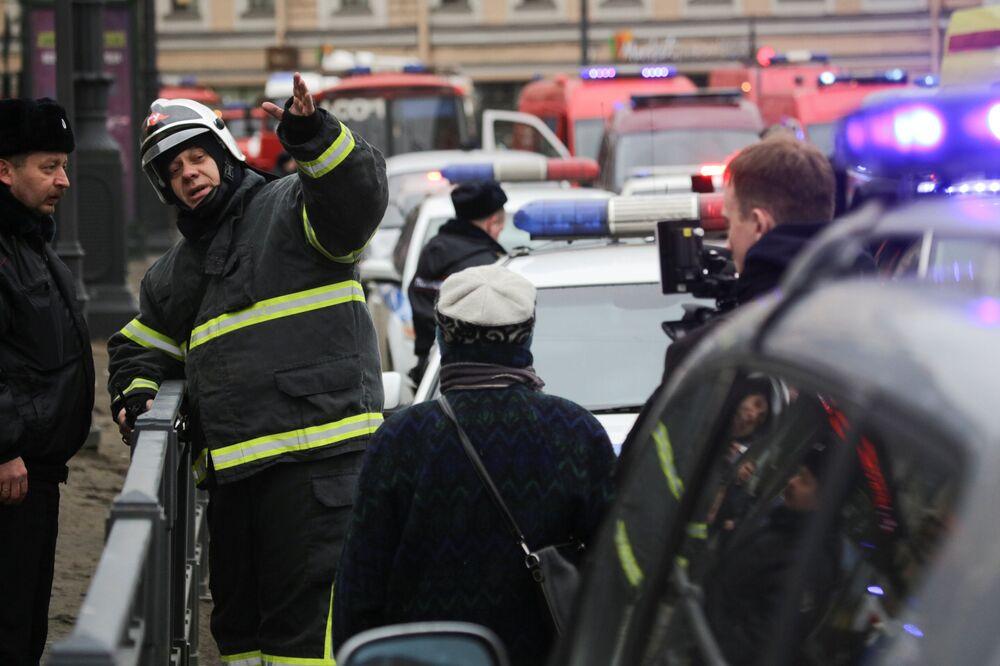 Zamach w metrze w Petersburgu