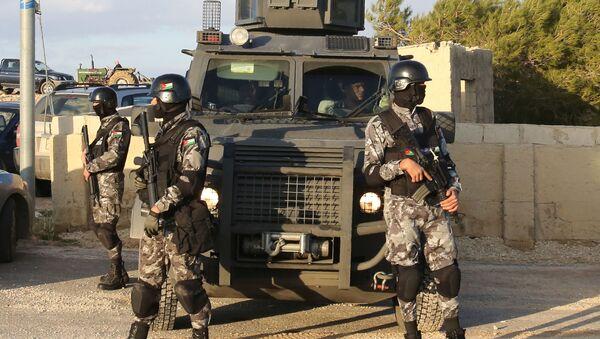 Siły bezpieczeństwa w Jordanii - Sputnik Polska