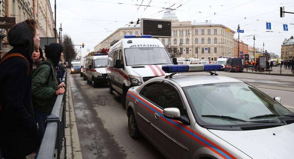 Stacja metra Tiechnologiczeskij Institut w Petersburgu, gdzie doszło do wybuchu