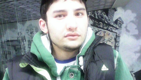 Domniemany wykonawca zamachu w Petersburgu Akbarżon Dżalilow - Sputnik Polska