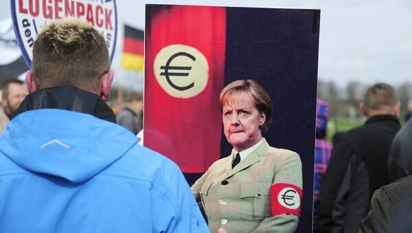 Pegida-Protest Dresden - Sputnik Polska