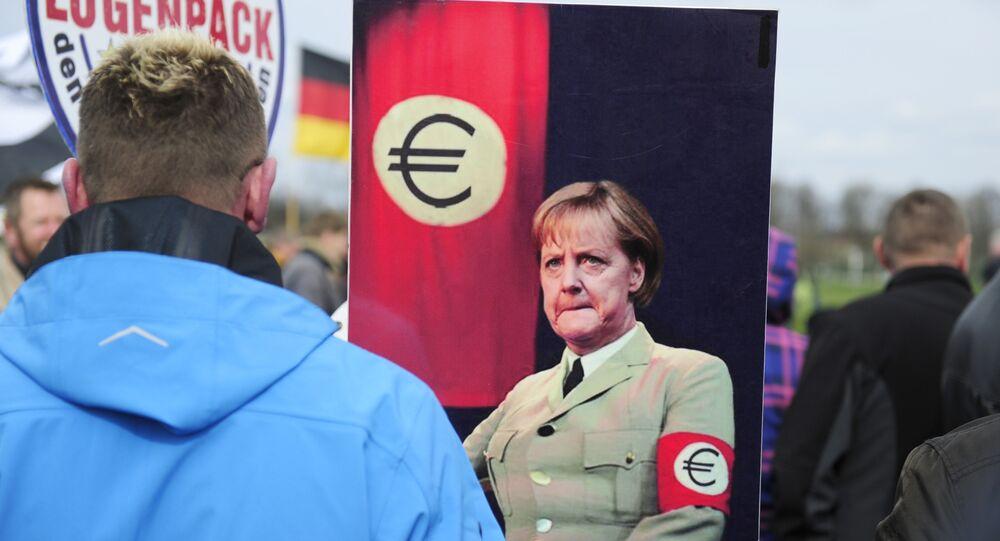 Pegida-Protest Dresden