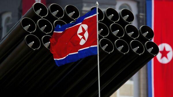 Parada wojskowa w Pjongjangu - Sputnik Polska