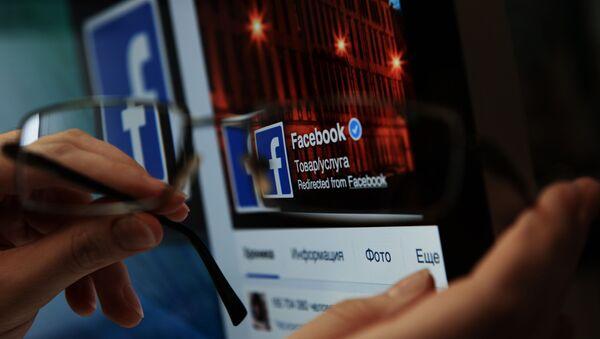 Serwis społecznościowych Facebook - Sputnik Polska