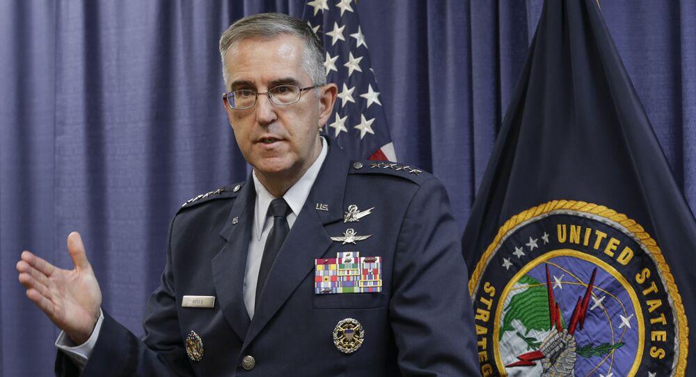 Szef Dowództwa Strategicznego USA (STRATCOM) generał John Hyten