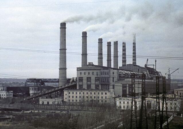 Elektrociepłownia na Ukrainie