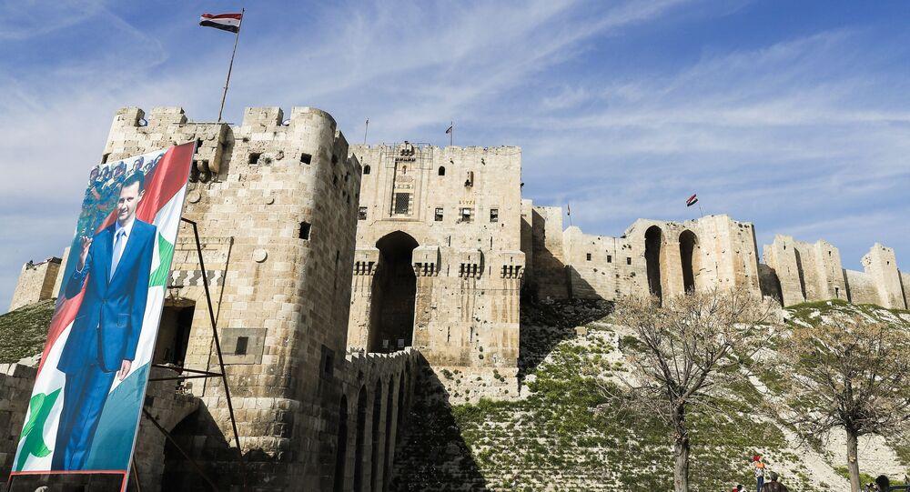 Twierdza na północy starego miasta w Aleppo