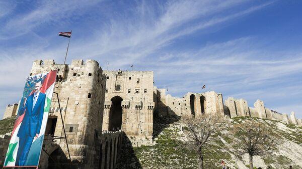 Twierdza na północy starego miasta w Aleppo - Sputnik Polska