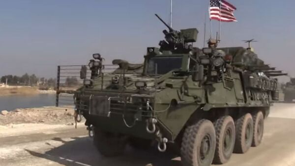 Amerykański czołg w Syrii - Sputnik Polska