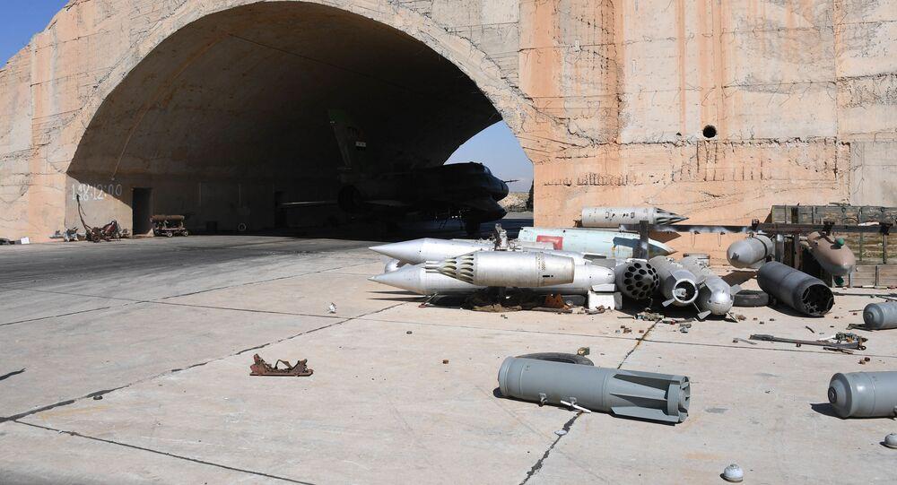 Atak rakietowy USA w Syrii