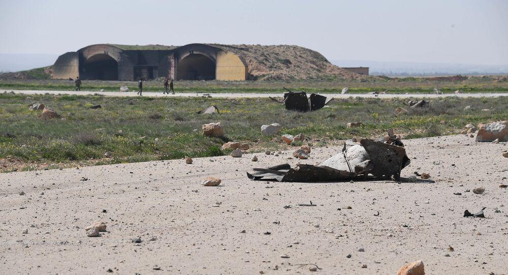 Skutki ataku rakietowego USA w Syrii