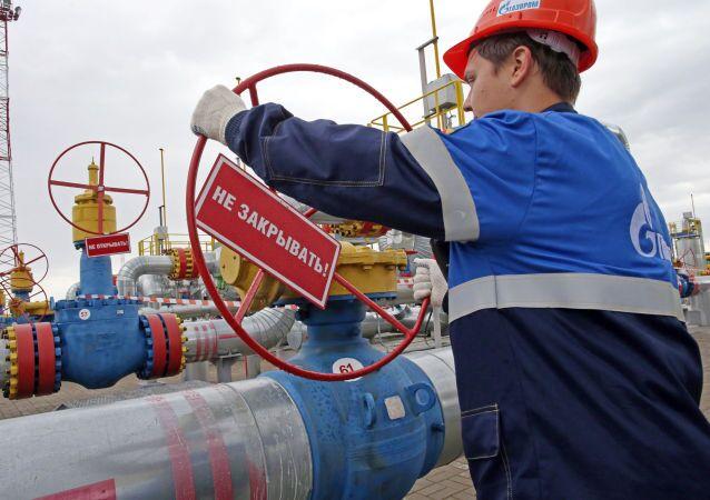 Podziemny magazyn gazu w Kaliningradzie