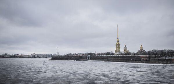 Twierdza Petropawłowska w Petersburgu. - Sputnik Polska