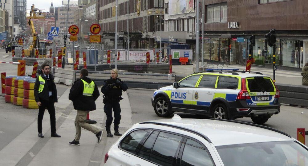 Szwecja, ciężarówka wjechała w tłum ludzi w Sztokholmie