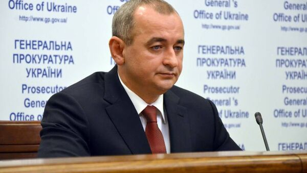 Prokurator wojskowy Ukrainy Anatolii Matios - Sputnik Polska