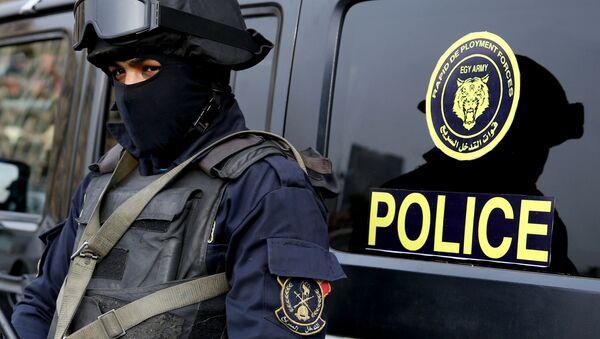 Policjanci w Kairze - Sputnik Polska