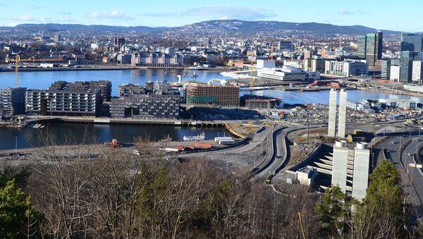 Widok na miasto Oslo, Norwegia - Sputnik Polska