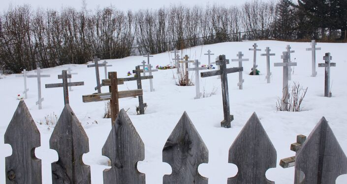 Cmentarz w Kachemak Selo, Alaska