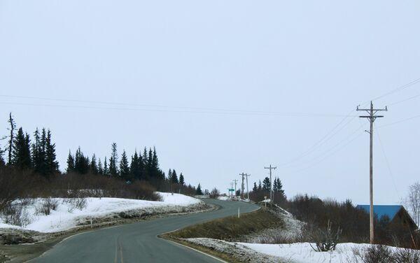 Droga w Kachemak Selo, Alaska - Sputnik Polska
