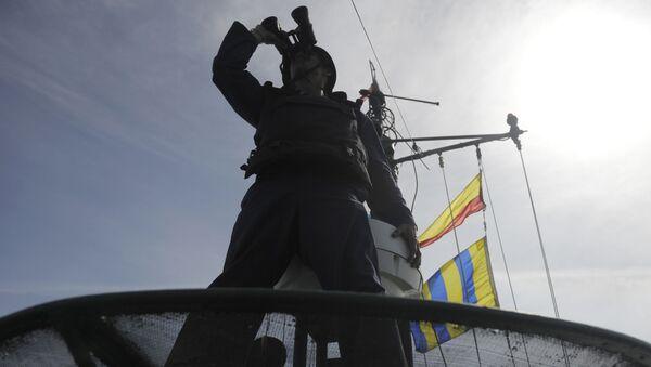 Marynarz podczas ćwiczeń - Sputnik Polska