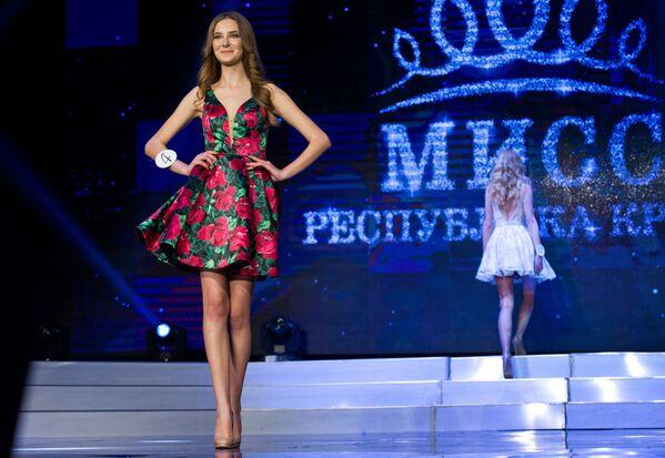 """Uczestniczki konkursu """"Miss Republiki Krymu 2017"""". - Sputnik Polska"""