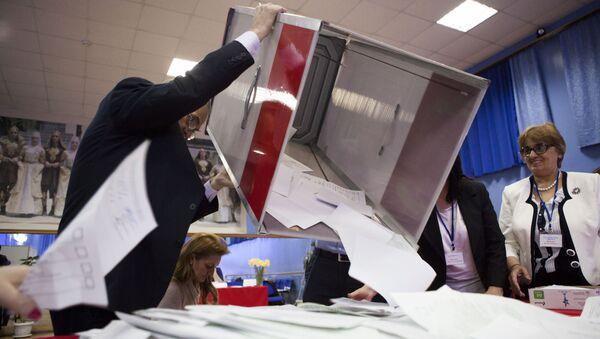 Wybory w Osetii Południowej - Sputnik Polska