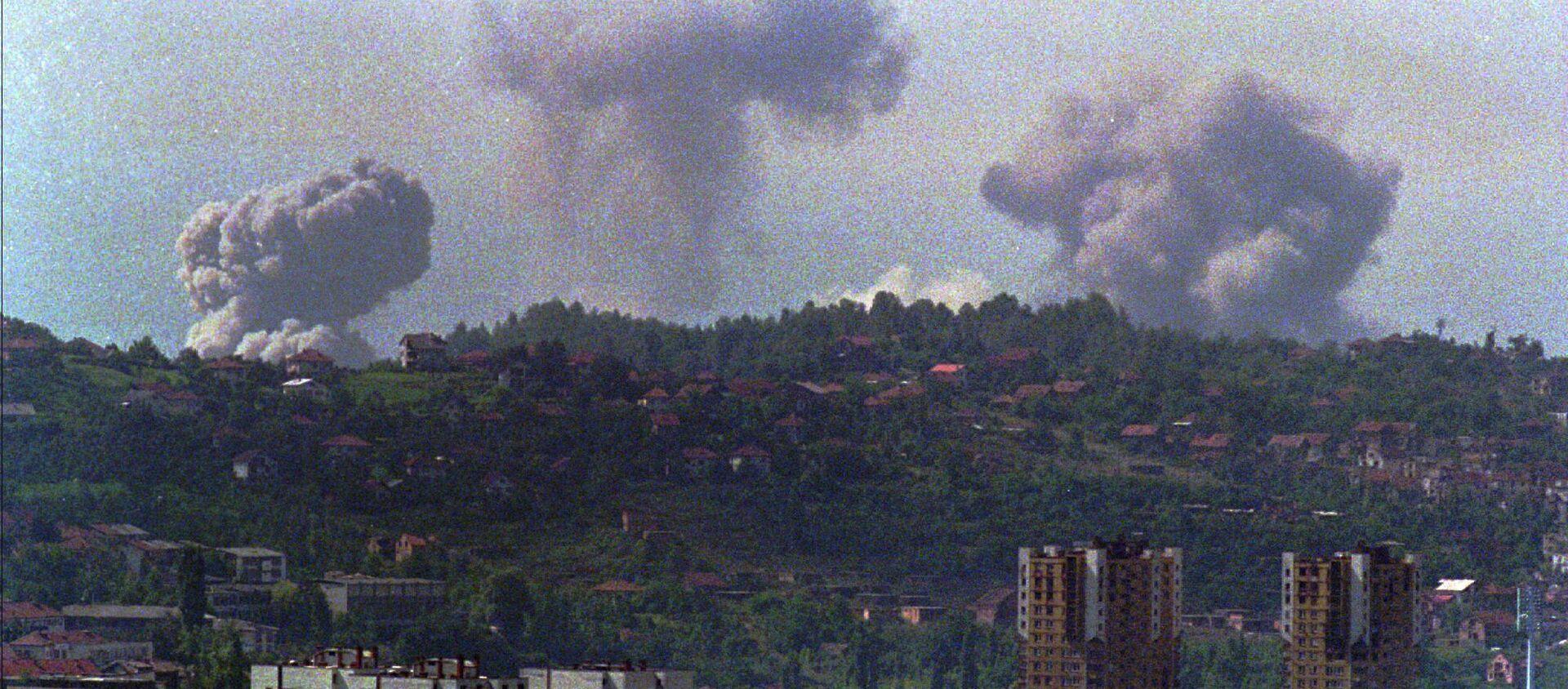 Operacja wojskowa NATO w Jugosławii została przeprowadzona między 24 marca i 20 czerwca 1999 roku - Sputnik Polska, 1920, 06.06.2020