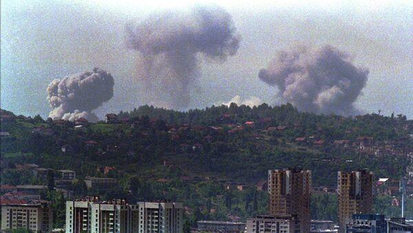 Operacja wojskowa NATO w Jugosławii została przeprowadzona między 24 marca i 20 czerwca 1999 roku - Sputnik Polska